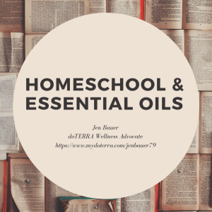 Essential oils & homeschool