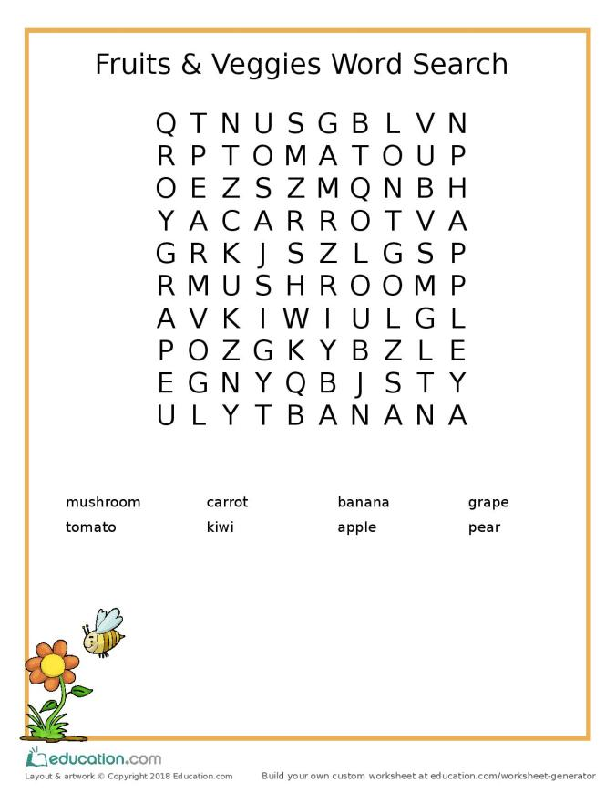 word search_easy_fruits_veggies-page-001